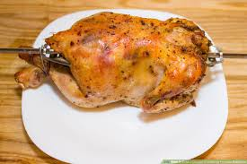 Cook A Chicken In A George Foreman Rotisserie