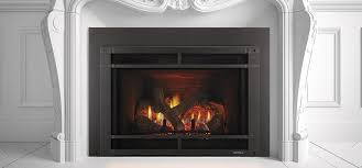 gas fireplace insert remote controlled escape heat glo s rh archiexpo com