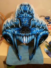 custom hyabusa paint