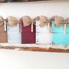Homemade Rustic Picture Frames Rustic Clothespin Pallet Wood Picture Frame Photo Hanger Burlap