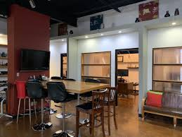 Creative office space large Ceiling Custombuilt Creative Office Space With Several Private Offices Reception Area Open Office Space Kitchen And Doublebarn Door Large Conference Room Homegramco Midway Office Park Creative Office Addison Tx Good Signature