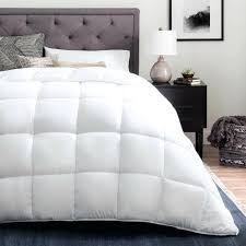 twin size down blanket down alternative reversible quilted comforter with corner duvet tabs multiple color options