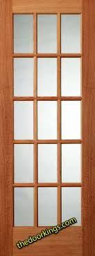 Contemporary Interior Glass Panel Door 6 Six Wood Oak In Design Decorating