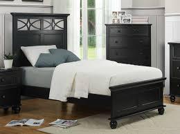 Sanibel Bedroom Furniture Homelegance Sanibel Bed Black 2119bk 1