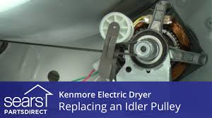 kenmore 80 series dryer belt. how to replace a kenmore electric dryer idler pulley 80 series belt t
