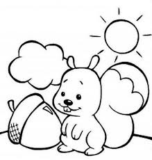 Small Picture Coloring Pages Preschool Fall Coloring Pages Fall Coloring Page