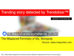 The Misplaced Feminism Of Ms Monopoly