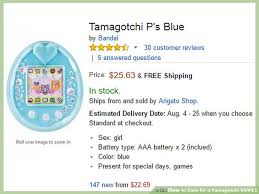 Tamagotchi 4 5 Growth Chart How To Care For A Tamagotchi V4 V4 5 9 Steps With Pictures