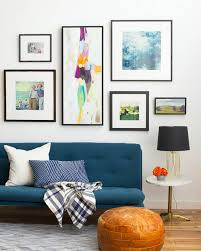 How To Choose Frame And Hang An Art Collection  Emily HendersonWall Picture Frames For Living Room