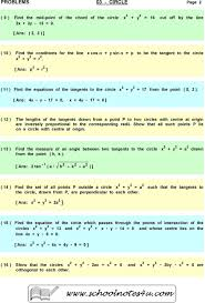 ans p r find the equations of the tangents to