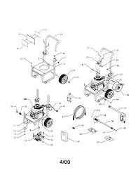 Powerboss pressure washer diagram wiring diagrams