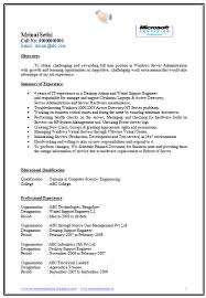 It Support Engineer Sample Resume New Resume Format 40 Year Experienced Software Engineer Resume Format