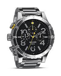 mens nixon watches bloomingdale s nixon the 48 20 chrono watch 48mm bloomingdale s 0