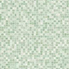 green mosaic tile vinyl flooring