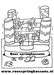 Kleurplaten Roos Springkussens