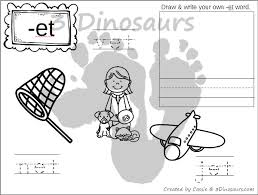 Word Family Coloring Pages New Cvc Word Family Coloring Pages Short E Vowel 3 Dinosaurs