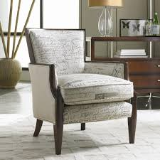 upholstered exposed wood chair