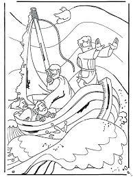 Jesus Calms Storm Coloring Pages Unique Jesus Storybook Bible