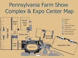 Farm Show Large Arena Seating Chart Pennsylvania Farm Show Complex Expo Center Maplets