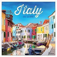 Amazon Com Italy 2019 Wall Calendar 12x12 Office