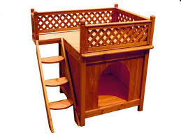 image of wooden dog crate furniture plans