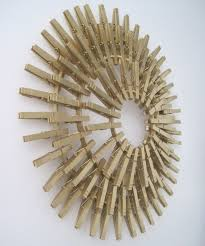 Sunburst Wall Art Diy Starburst Sunburst Clothespin Wall Art You Can Even  Add A Mirror To The Center