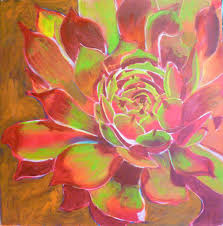 free acrylic painting lessons painting flowers on canvas still adding layers