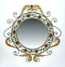 victorian wall mirror walnut wall mirror vintage