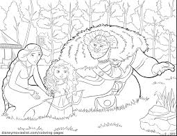 brave coloring pages marvelous disney infinity with