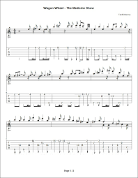 wagon wheel sheet music wagon wheel ocms fiddle intro gdgbd tab details and ratings