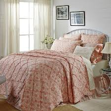 32 best For the Home: Bedspread/Quilts images on Pinterest ... & The Romantic Ruffled Genevieve Luxury Quilt tops off your romantic weekend!  A soft floral pattern Adamdwight.com