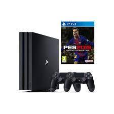 Sony Ps4 Pro 1Tb Oyun Konsolu + 2. Ps4 Kol + Ps4 Pes 19 Oyun Fiyatı