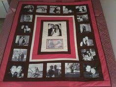 Memory Baby Clothes Quilt Deposit, First-Year Quilt, 48 Squares ... & Photo Memory Quilts - some great ideas here Adamdwight.com