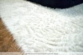 diy faux fur rug how to fake a flokati addicted 2 decoratingar faux sheepskin rugs small