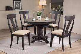 Amazoncom Iconic Furniture 5 Piece Round Panel Back Upholstered
