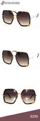 gucci 0106s. gucci🎈gg0106s havana, gold, brown sunglasses nwt gucci 0106s