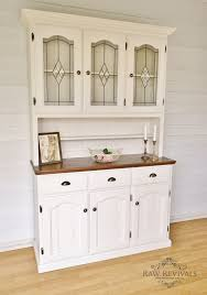 French provincial buffet and hutch. Furniture redo furniture DIY hand  painted upcycled. www.