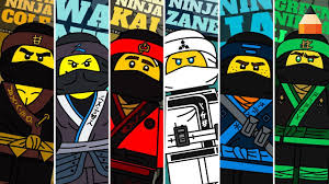 Draw Lego Ninjago Characters Lego Coloring Pages Ninja Coloring Pages