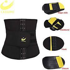 <b>LAZAWG Women</b> Hot <b>Waist Trainer</b> Sauna Sweat Slimming Belt ...