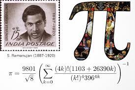 Image result for ramanujan postage stamp