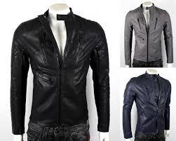 details about armani exchange a x men s faux leather moto jacket k6k500bl