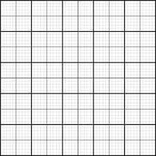 Graph Paper Coordinate Paper Grid Paper Stock Vector Royalty Free
