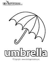Small Picture Umbrella Coloring Pages At Coloring Page glumme