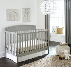 corner baby cribs beds 5 in 1 fixed side convertible crib pebble gray . corner  baby cribs ...