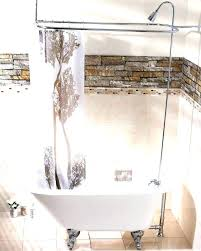 clawfoot tub shower curtain track claw tub shower curtain tub and shower decorations tub shower curtain rod ceiling mount from tub bathrooms public