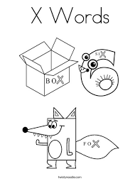 Choose from over a million free vectors, clipart graphics, vector art images, design templates, and illustrations created by artists worldwide! X Words Coloring Page Twisty Noodle