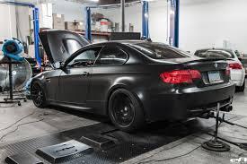 matte black bmw m3. Brilliant Matte Matte Black BMW E92 M3 Supercharged Project By European Auto Source 14  750x500 To Bmw O