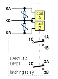 bistable dpdt latching relay with screw terminals 12v relay schematic relay module photo relay module schematic