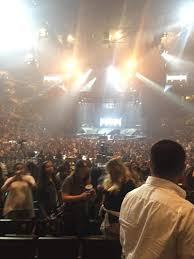 Staples Center Section 106 Row 12 Seat 15 Justin Bieber