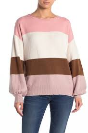 14th And Union Size Chart 14th Union Striped Chenille Knit Sweater Hautelook